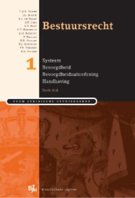 Boek cover Bestuursrecht / 1 van L.J.A. Damen (Paperback)
