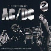 CD cover van History of AC/DC van AC/DC