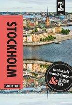 Boek cover Wat & Hoe reisgids - Stockholm van Wat & Hoe Stedentrip (Paperback)