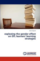 Exploeing the Gender Effect on Efl Learners' Learning Strategies