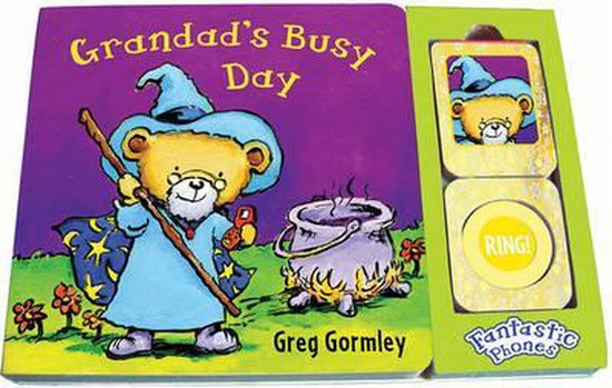 Boek cover Grandads Busy Day van Greg Gormley (Hardcover)