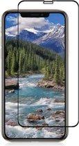 iPhone XS Max - Full Cover Screenprotector - Gehard Glas - Zwart