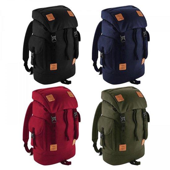 Urban explorer backpack, kleur Military Green/ Tan - Bagbase