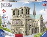 Ravensburger Notre Dame Parijs - 3D puzzel gebouw - 324 stukjes
