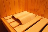 Karibu Sauna Hoofdsteun Wave - Ergonomisch (63009)