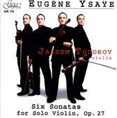 Eugene Ysaye: Six Sonatas for Solo Violin, Op. 27