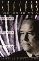 Boek cover Opus Posthumous van Wallace Stevens