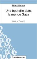 Afbeelding van Une bouteille dans la mer de Gaza de Valérie Zénatti (Fiche de lecture)