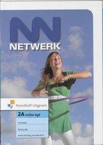 Boek cover 2A vmbo-kgt Netwerk Leerboek van R.E. Bruijn-Baan