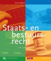 Boek cover Staats- en bestuursrecht van Lydia Janssen