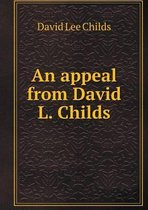 Omslag An Appeal from David L. Childs
