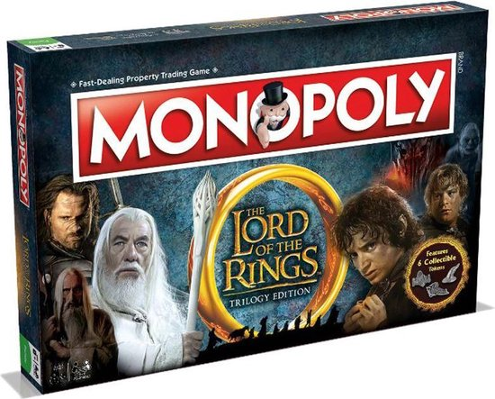 Monopoly Lord of the Rings - Engelstalig Bordspel