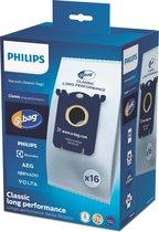 Philips S-bag FC8021/05 - Stofzuigerzakken - 16 stuks