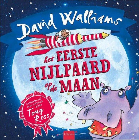 Het eerste nijlpaard op de maan