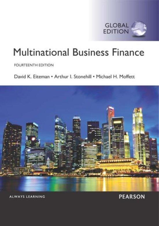 Boek cover Multinational Business Finance, Global Edition van David Eiteman