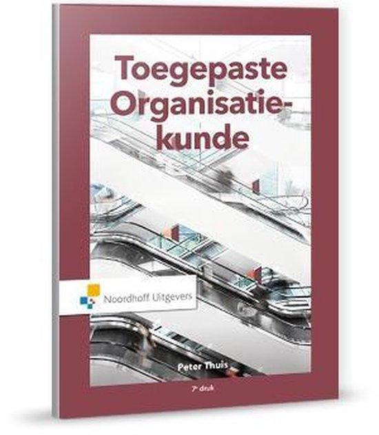 Boek cover Toegepaste organisatiekunde van Peter Thuis (Hardcover)