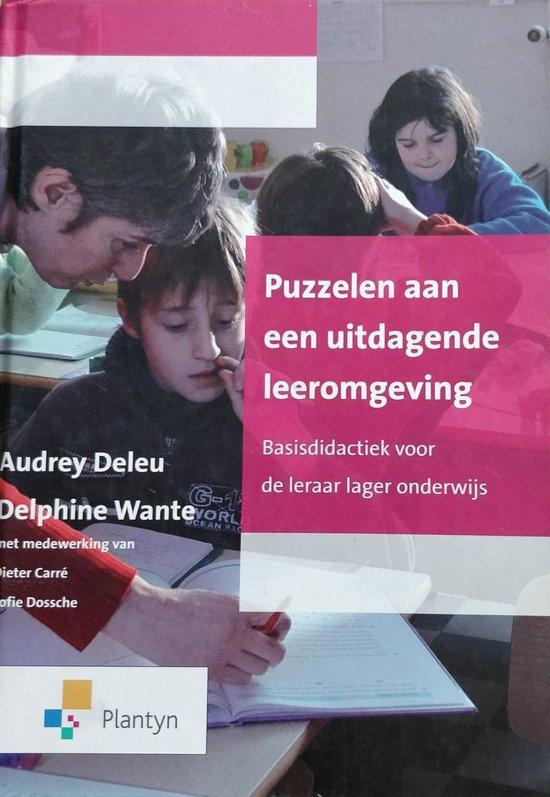 Puzzelen aan een uitdagende leeromgeving - Delphine Wante Audrey deleu | Fthsonline.com