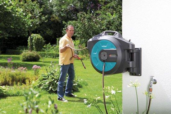 GARDENA Wand-slangenbox roll-up automatic - 35 m slang Ø13 mm