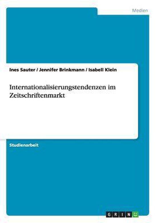 Internationalisierungstendenzen im Zeitschriftenmarkt