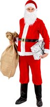 dressforfun - Herenkostuum kerstman XXL  - verkleedkleding kostuum halloween verkleden feestkleding carnavalskleding carnaval feestkledij partykleding - 300488