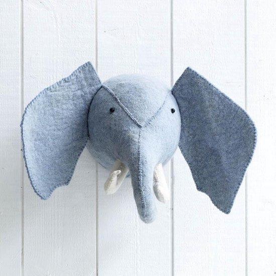 Dierenkop Zoo Elephant Mint KidsDepot