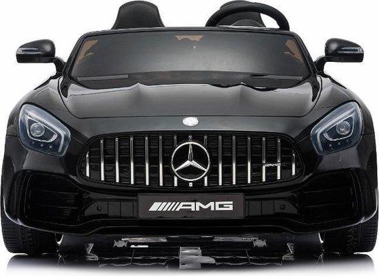 Bol Com Elektrische Kinderauto Mercedes Benz Gt R Zwart 2 Persoons Auto 24v Met