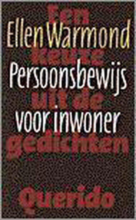 Persoonsbewijs voor inwoner - E. Warmond |