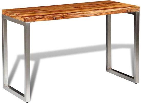 Wonderbaar bol.com | Tafel wandtafel sidetable smalle eettafel bureau hout LY-38