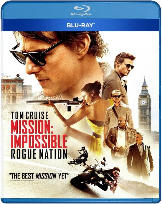 Mission: Impossible Rogue Nation (Blu-ray)