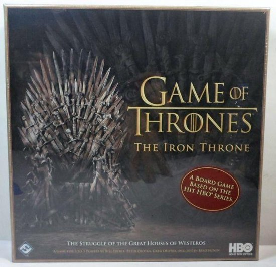 Game of Thrones The Iron Throne Boardgame