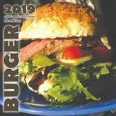 Burger 2019 Mini Wall Calendar (UK Edition)