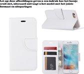 Xssive Hoesje voor Vodafone Smart Prime 6 - Book Case Wit