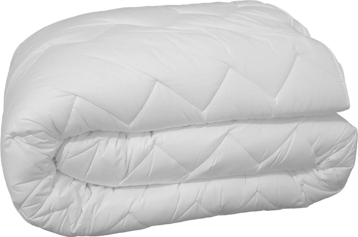Ultra Soft 4-seizoenen Princessdekbed - Eenpersoons -140x200 cm - Anti Allergie - Wasbaar - Wit