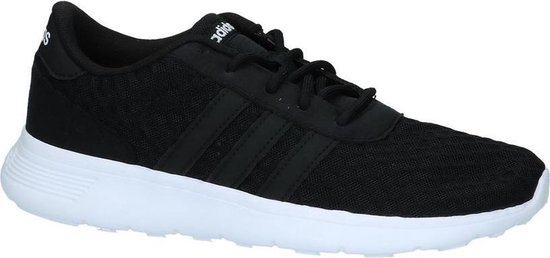 adidas - Lite Racer W - Sneaker runner - Dames - Maat 42,5 - Zwart;Zwarte -  Core Black/Core Black/Ftwr White