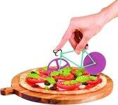 Doiy Racefiets Pizzasnijder - Mint - Roze