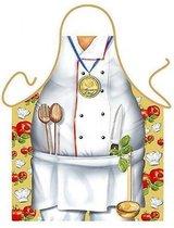 Benza Schort Chef Kok - Leuke/Funny Keukenschort