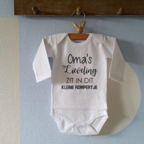 Merkloos / Sans marque Baby Rompertje Maat 50