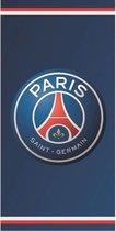 Paris Saint Germain Logo - Strandlaken - 70 x 140 cm - Blauw