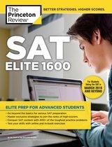 Boek cover SAT Elite 1600 van The Princeton Review