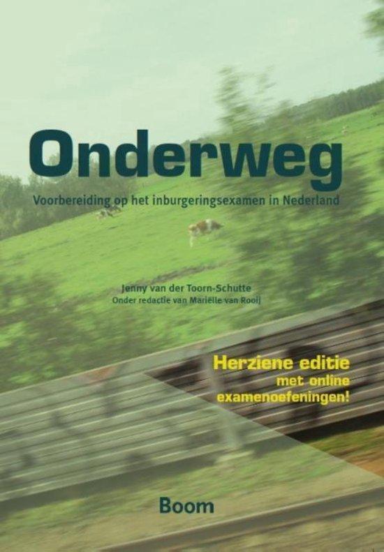 Boek cover Onderweg van Jenny van der Toorn-Schutte (Paperback)