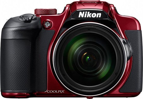 Nikon COOLPIX B700 Bridge fototoestel 20,3 MP CMOS 5184 x 3888 Pixels 1/2.3'' Rood