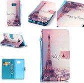 iCarer Eiffel tower wallet case hoesje Samsung Galaxy Note 7