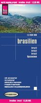 Reise Know-How Landkarte Brasilien / Brasilia