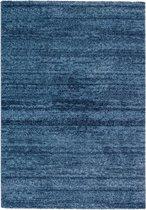 Modern vloerkleed Blauw 140 x 200 cm Astra Samoa