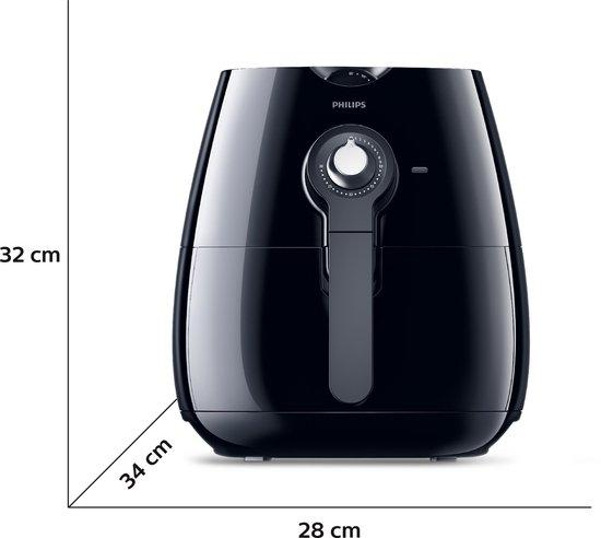 Philips Viva Airfryer HD9220/20 - Hetelucht friteuse - Zwart