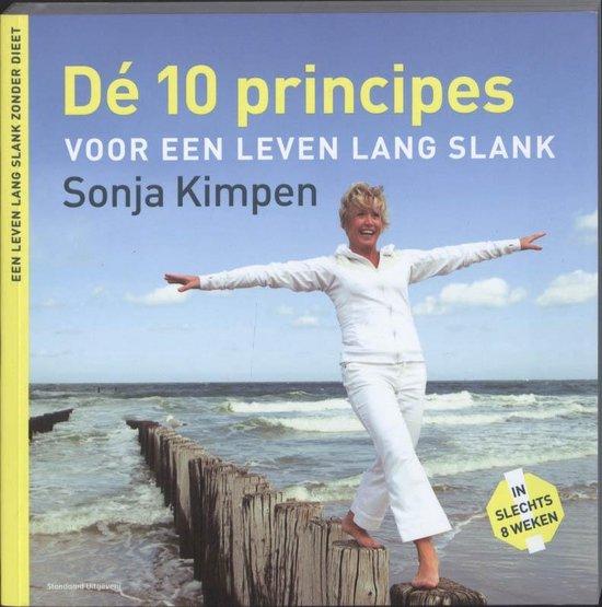 De 10 principes voor een leven lang slank - Sonja Kimpen |