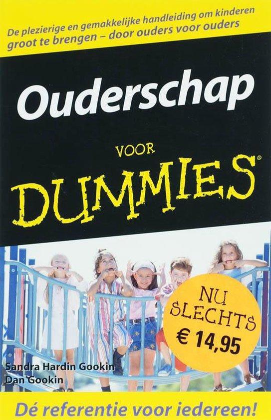 Boek cover Ouderschap Voor Dummies van G.Hardin Gookin (Onbekend)