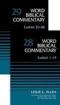Boek cover Ezekiel (2-Volume Set---28 and 29) van Leslie C. Allen