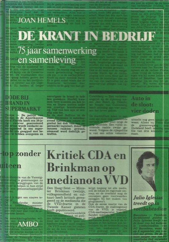 Krant in bedryf - Hemels |