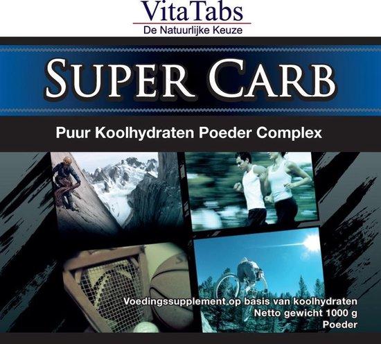 VitaTabs Super Carb - 1000 gram - Voedingssupplementen